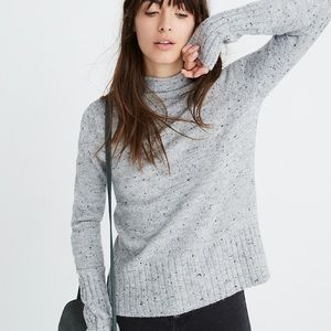 NEW Madewell donegal inland turtleneck sweater xs